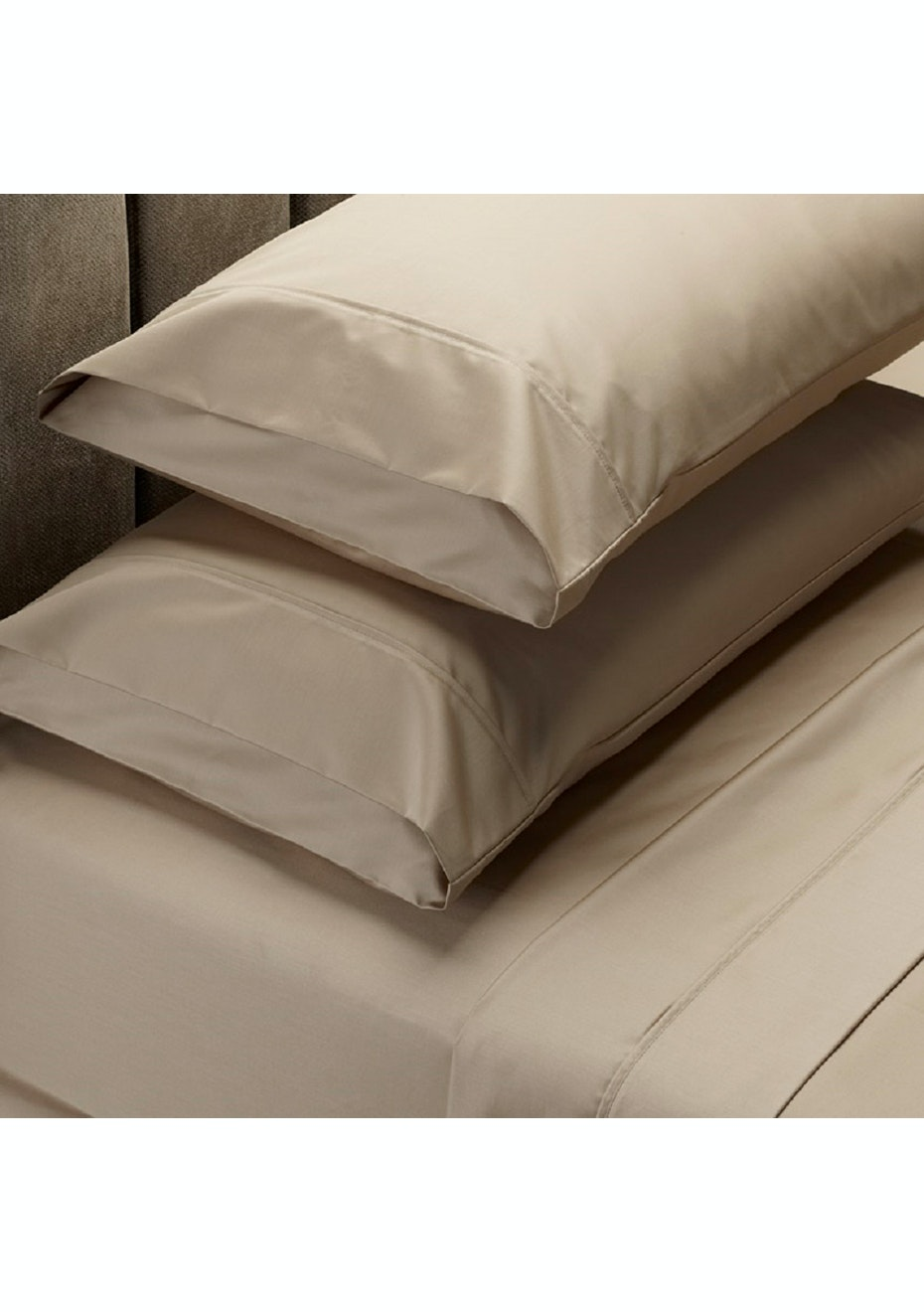 Park Avenue 1000 Thread Count 100% Egyptian Cotton Sheet Sets King - Oatmeal