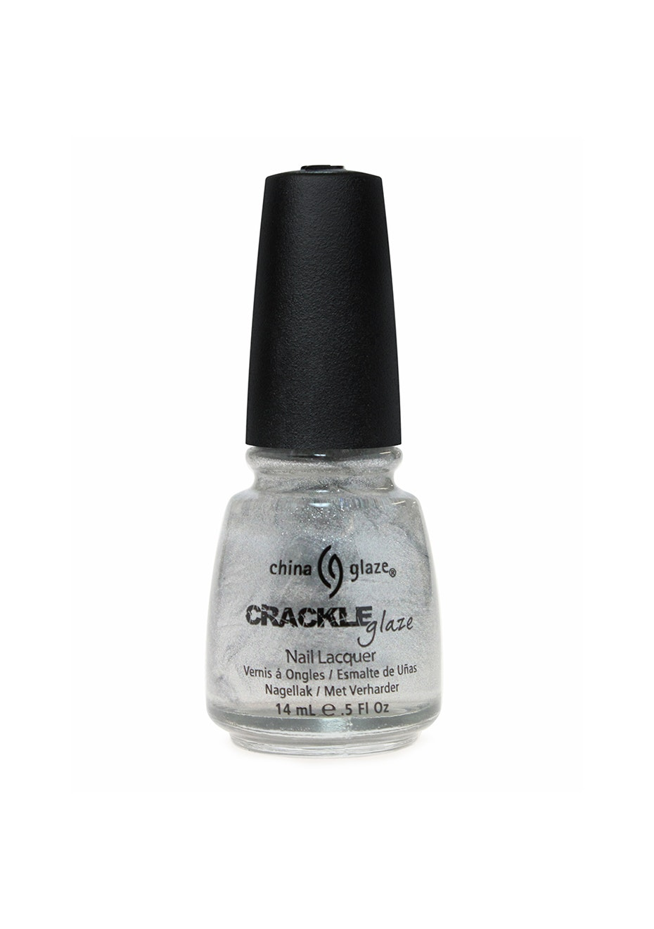 China Glaze Crackle Metals Collection #1044 PLATINUM PIECES