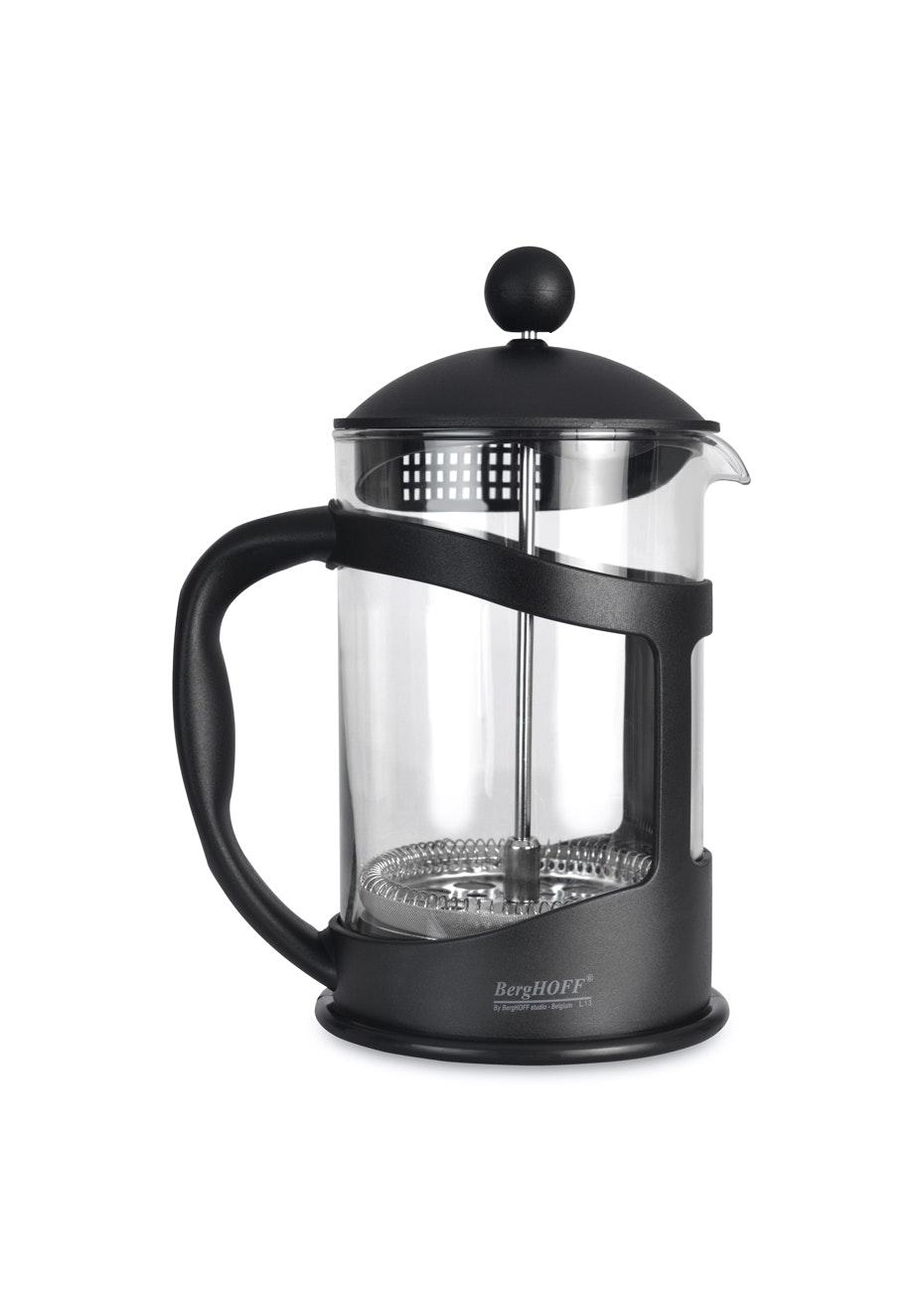 Berghoff Coffee / Tea Plunger Black 1.1L