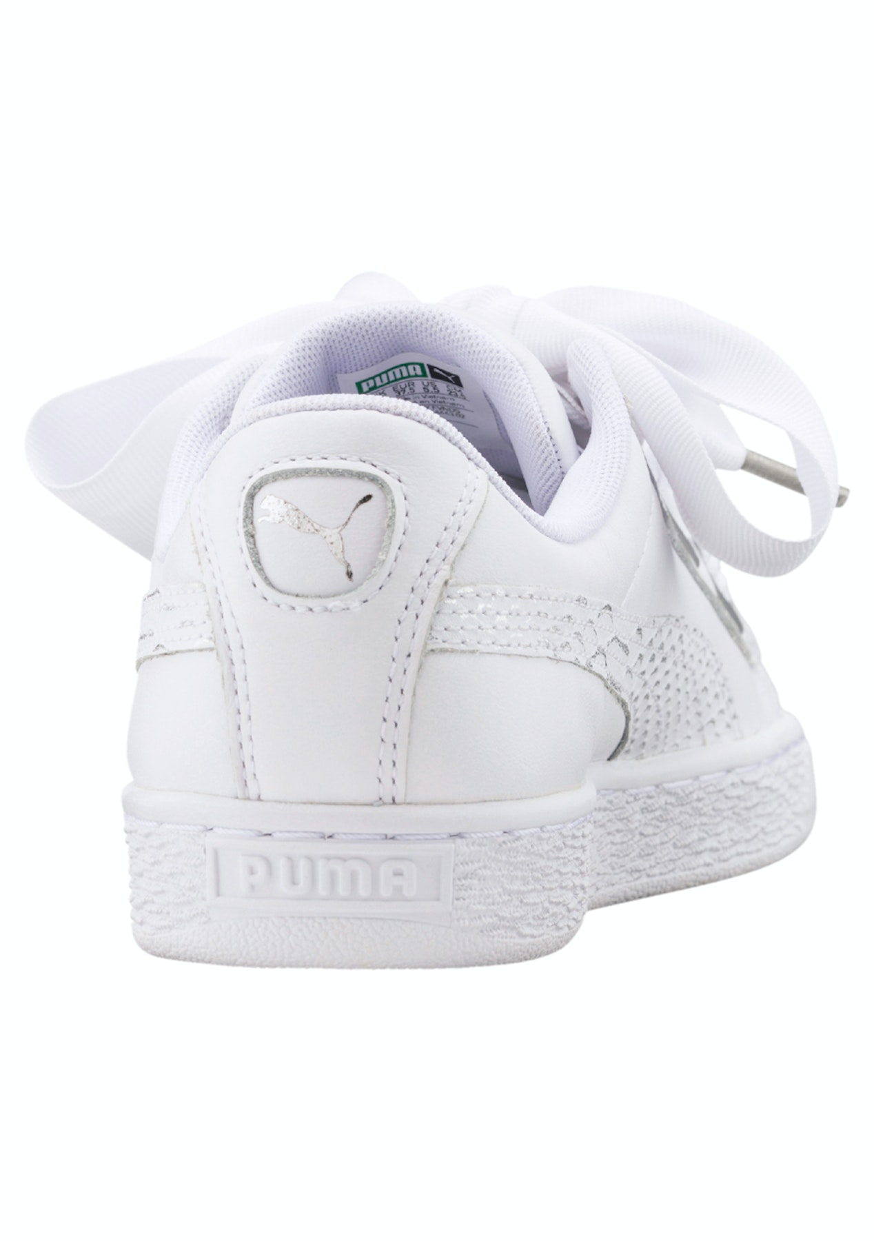 newest collection 38287 babe5 Puma Womens - Basket Heart Oceanaire - White