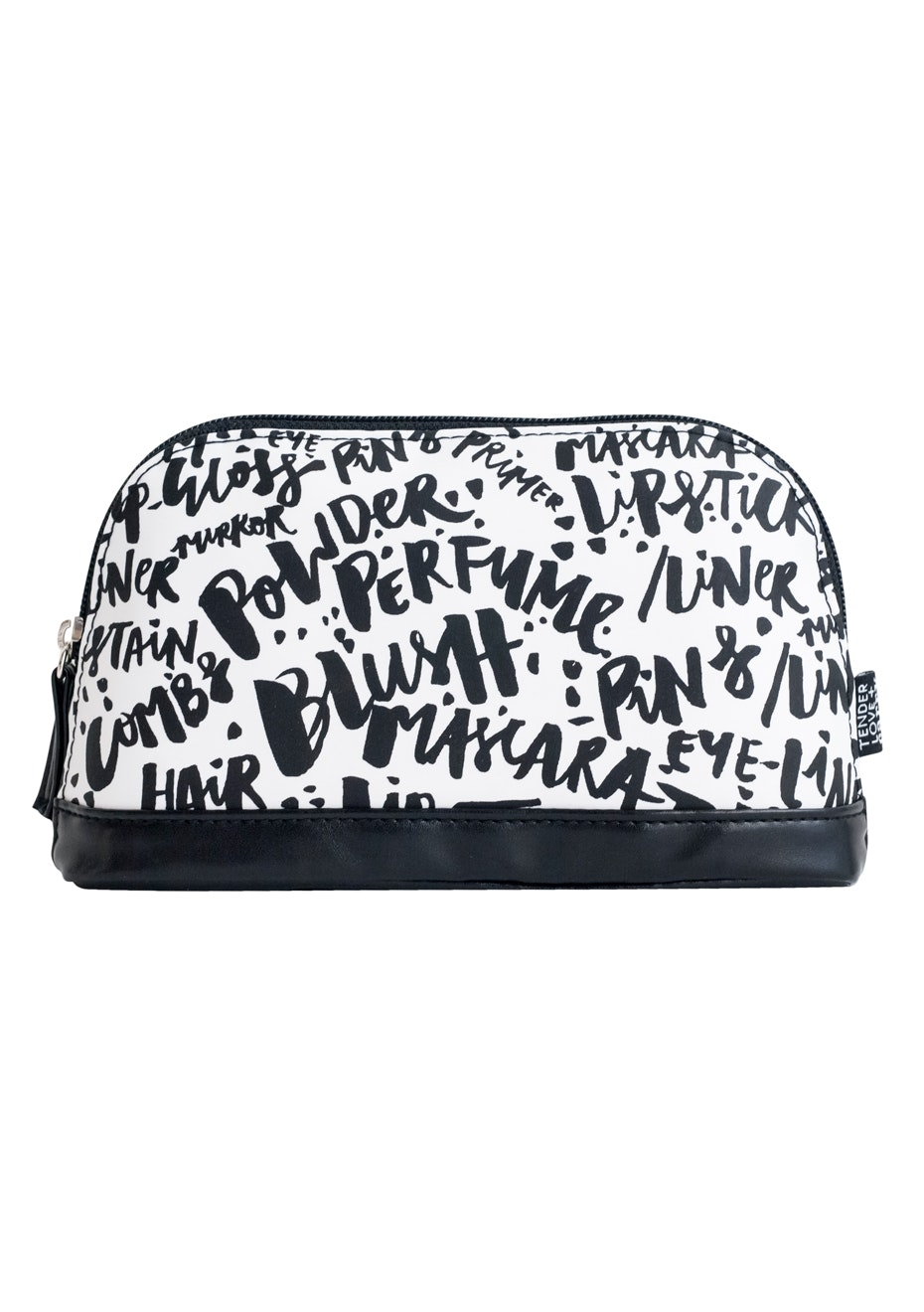 TL+C - Typography Petite Case - Black/White