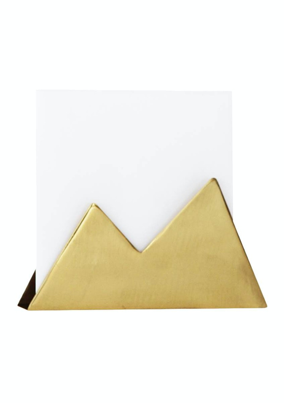 Me & My Trend - Brass Mail Mountain Holder