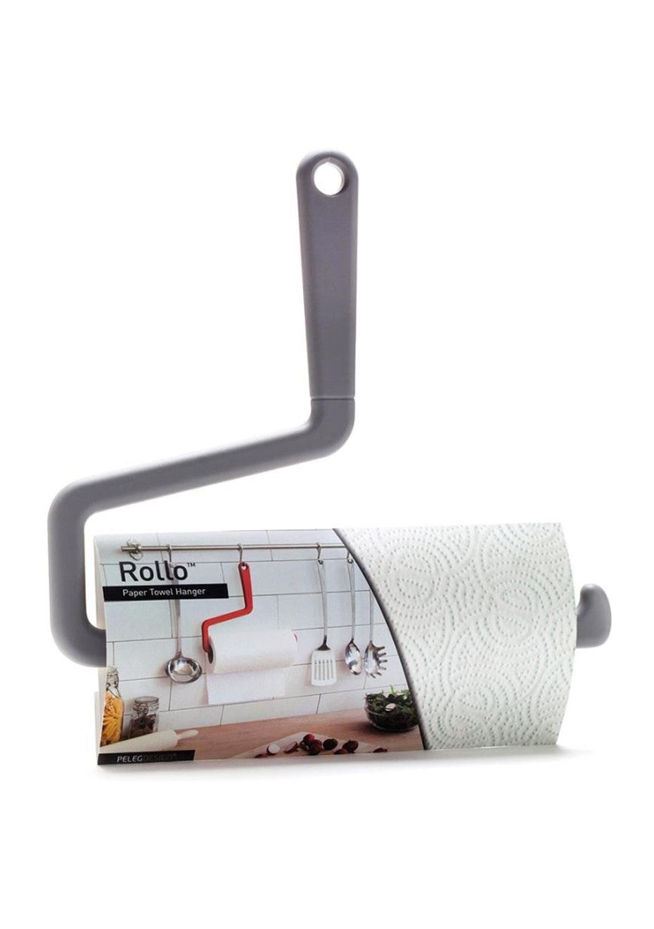 Rollo - Paper Towel Hanger - Grey