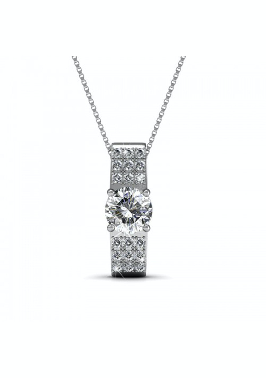 Royale Pendant Necklace Embellished with Crystals from Swarovski