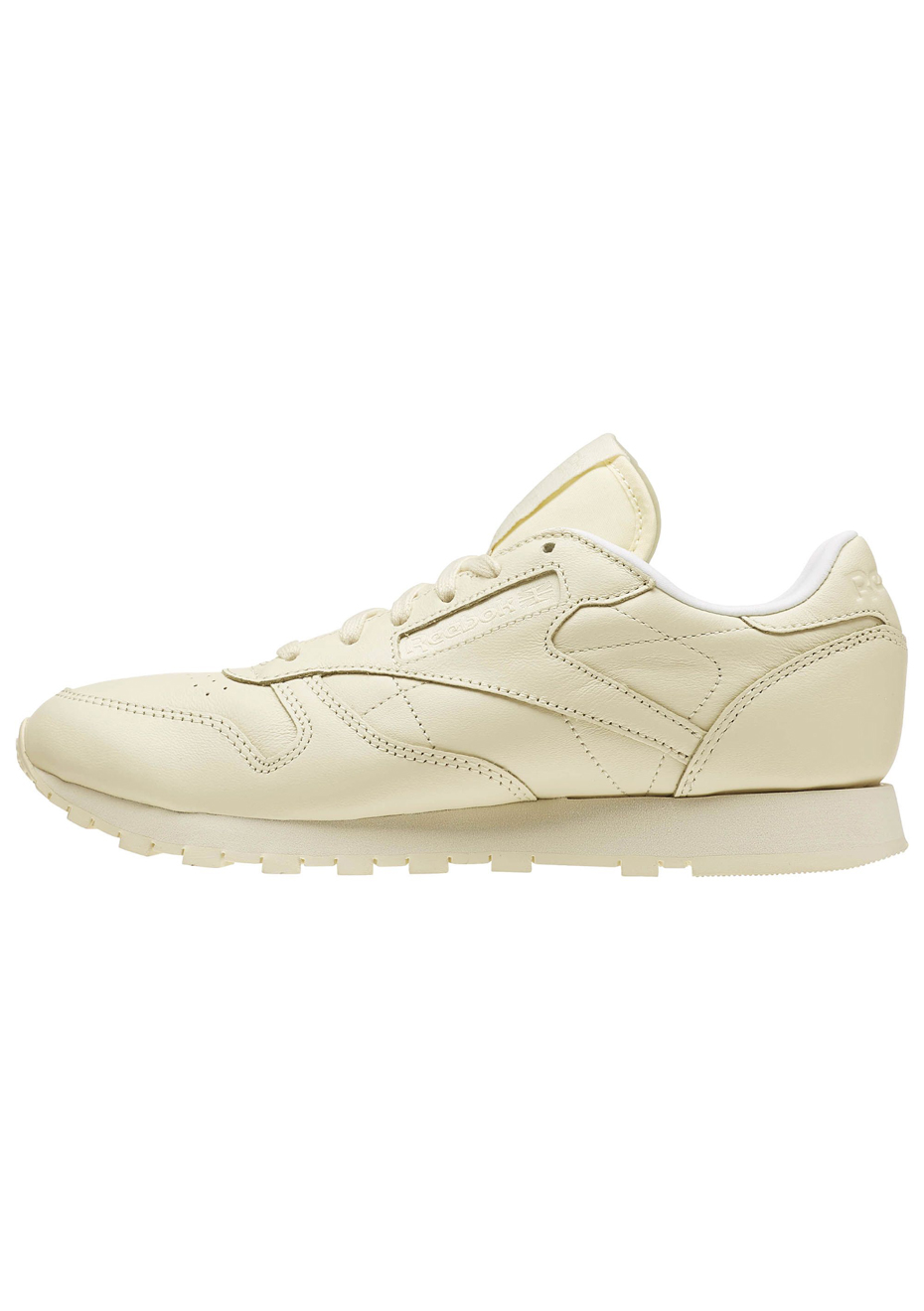 Lthr Womens Pastels Washed Yellowwhite Reebok Cl deCxBo