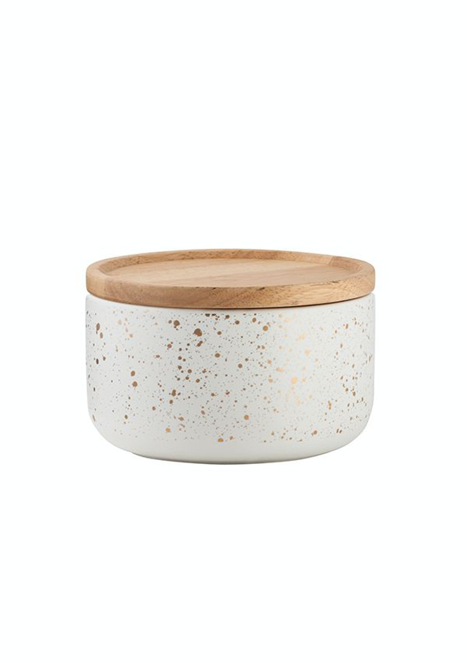 General Eclectic - Wide Canister GoldGrey Spot