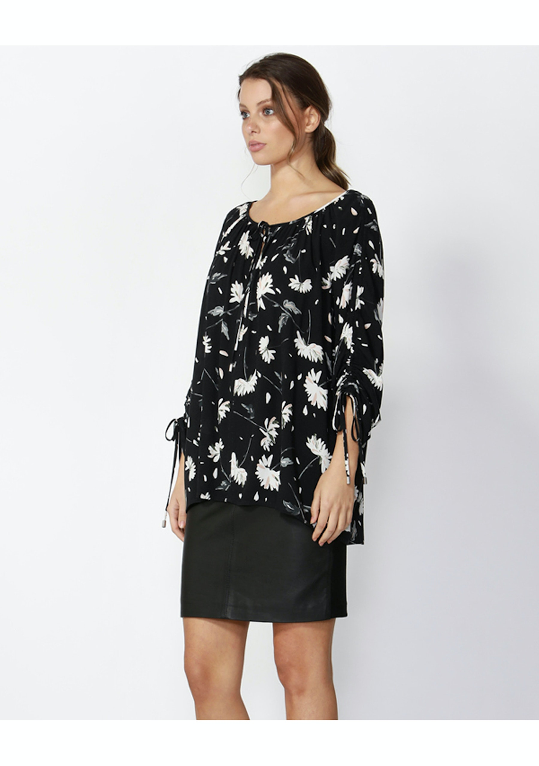 Fate Winter Night Out Blouse Winter Night Out Print Sass