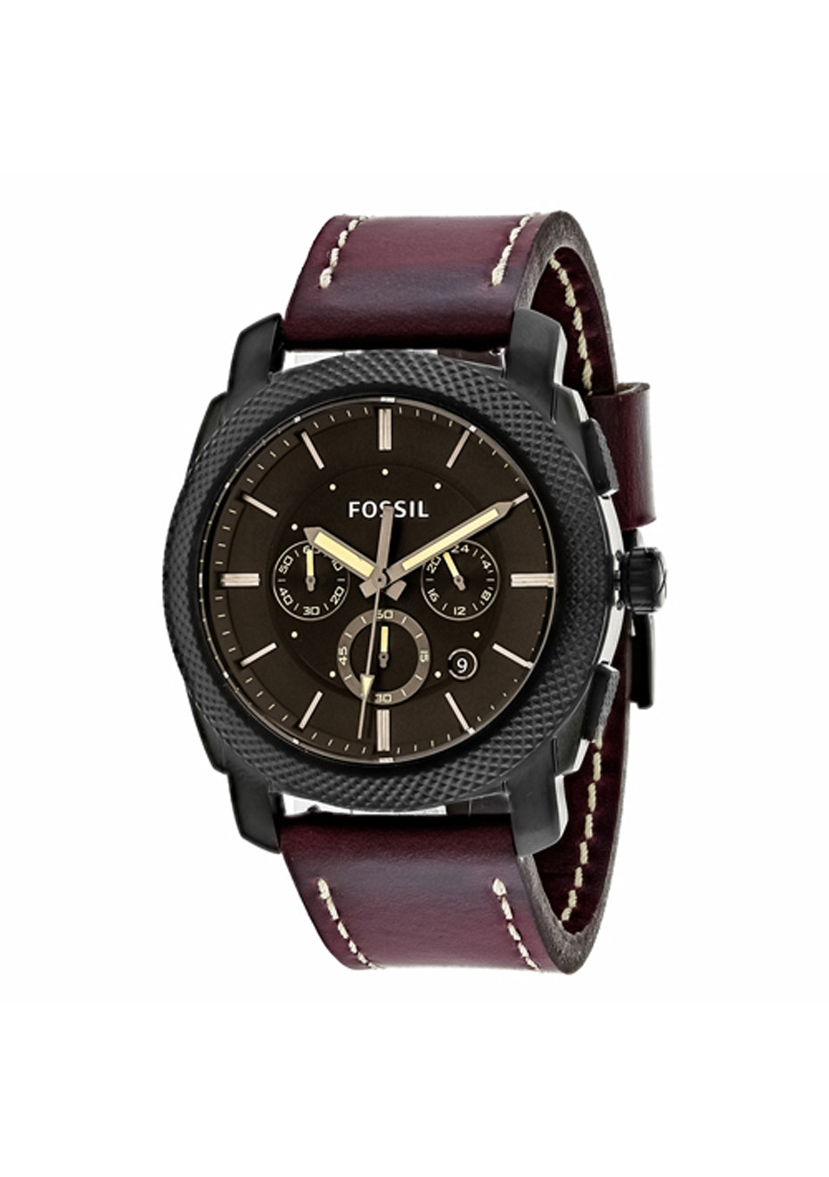 Fossil Men's Machine Chronograph - Brown/Brown