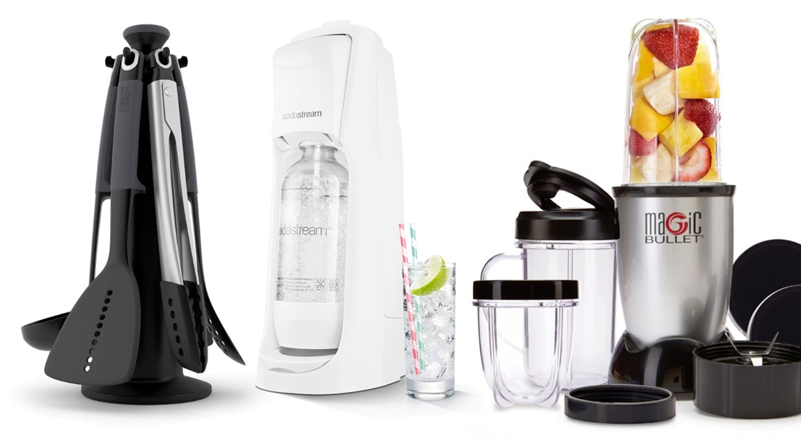 Magic Bullet, Soda Stream & More