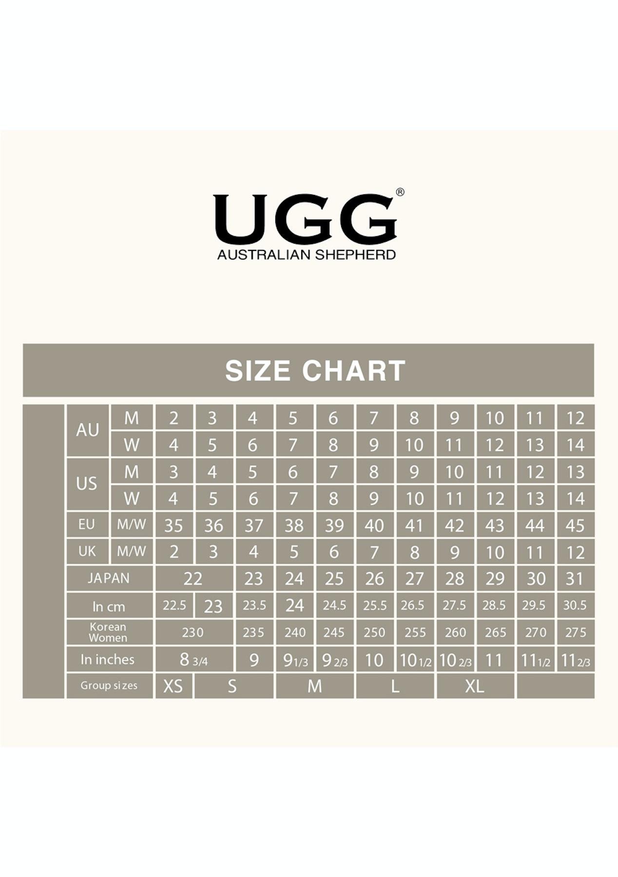 11dd492d1126 Australian Shepherd Ugg - Tall Side Zip - Black - Free Shipping Australian  Shepherd + Ever Uggs - Onceit
