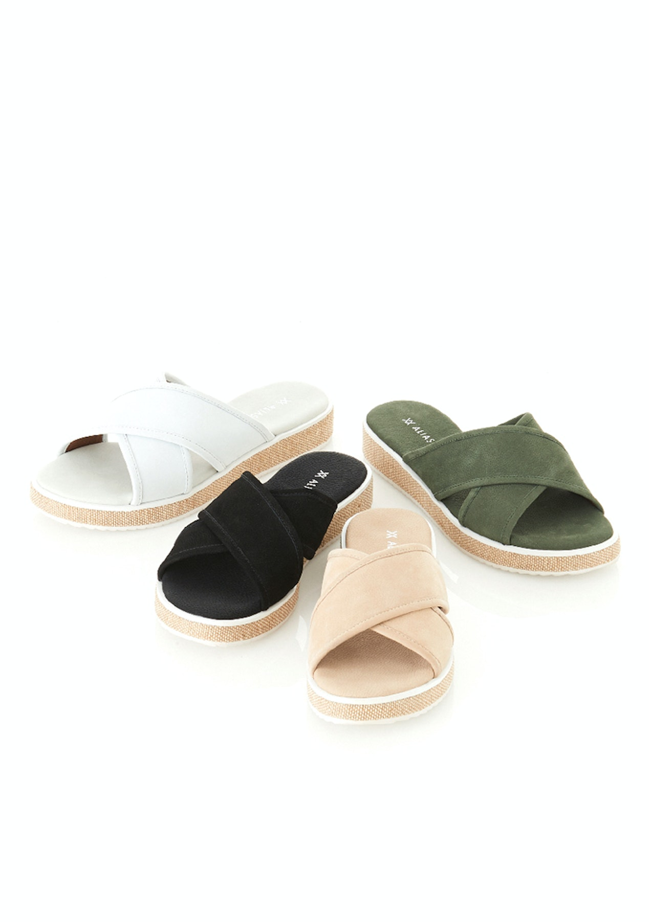 3966e9a25a8d Alias Mae - Vilify - Light Grey Nubuck - Alias Mae - up to 75% off - Onceit