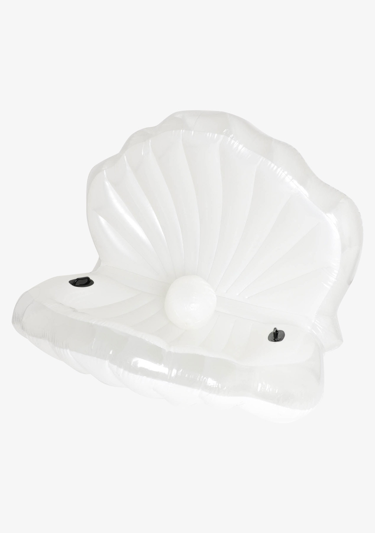 Clam with Pearl Inflatable  - White