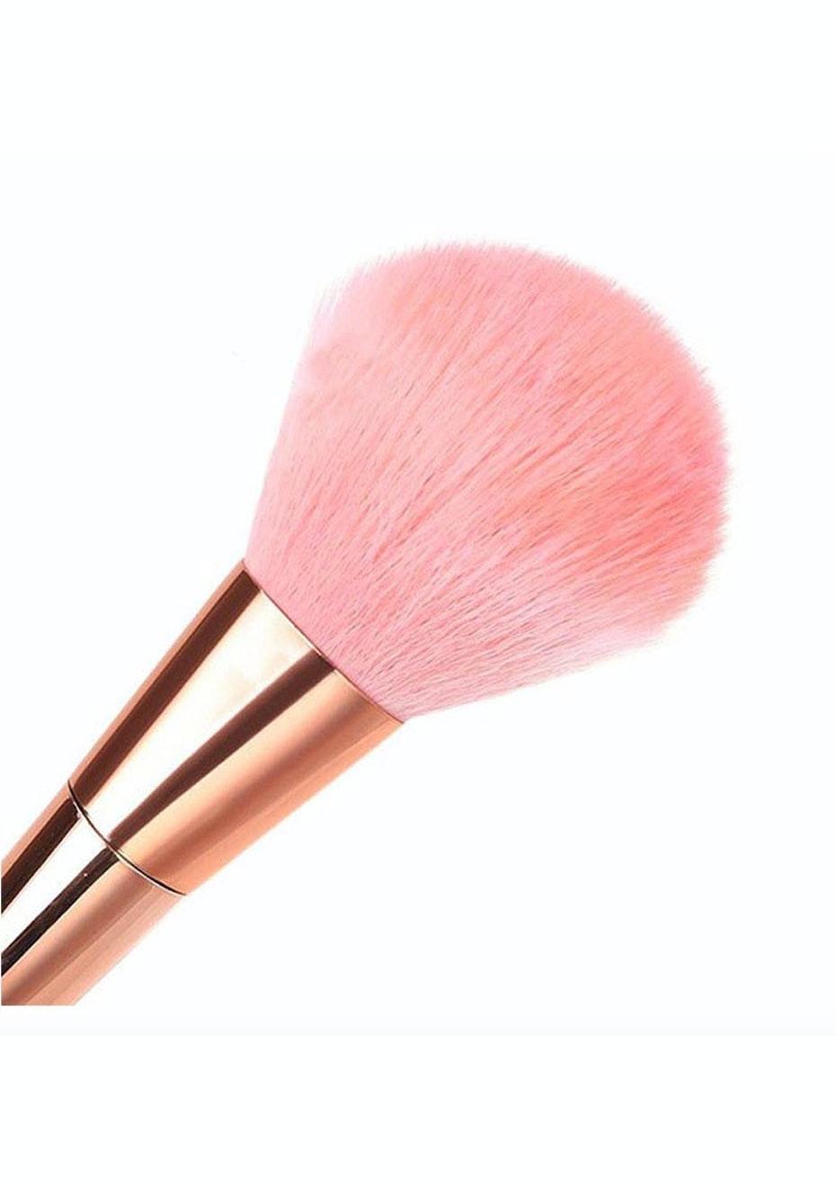 7Pcs Rose Gold Makeup Brushes Set