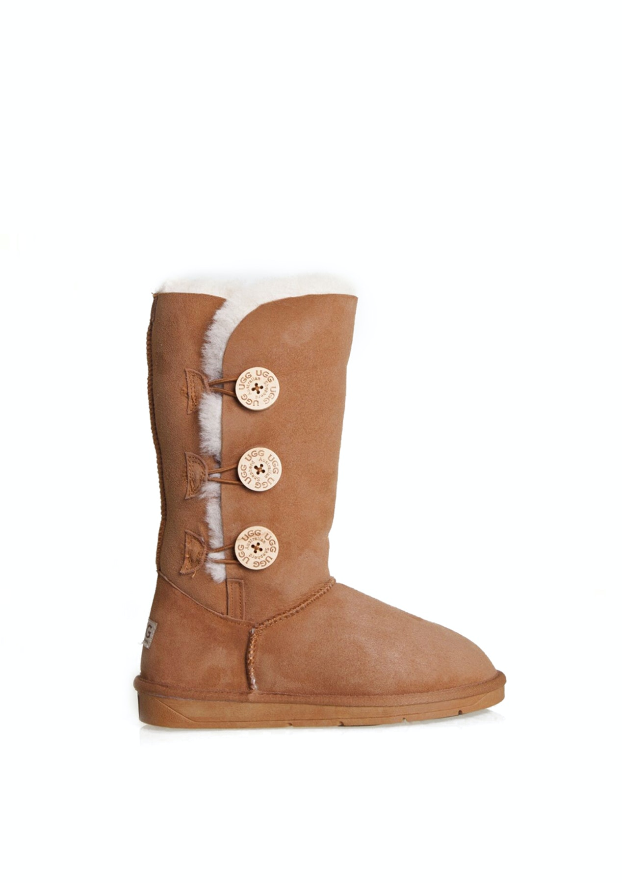 1c8061ccd1a Australian Shepherd Ugg - Tall button - Chestnut