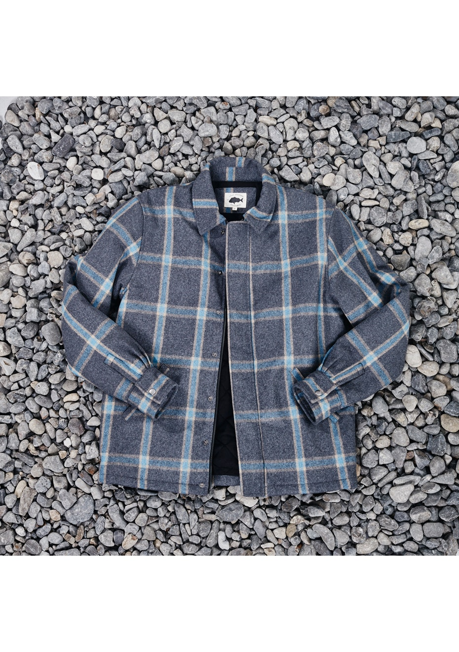 Just Another Fisherman - Swashbukler Jacket- Grey Check