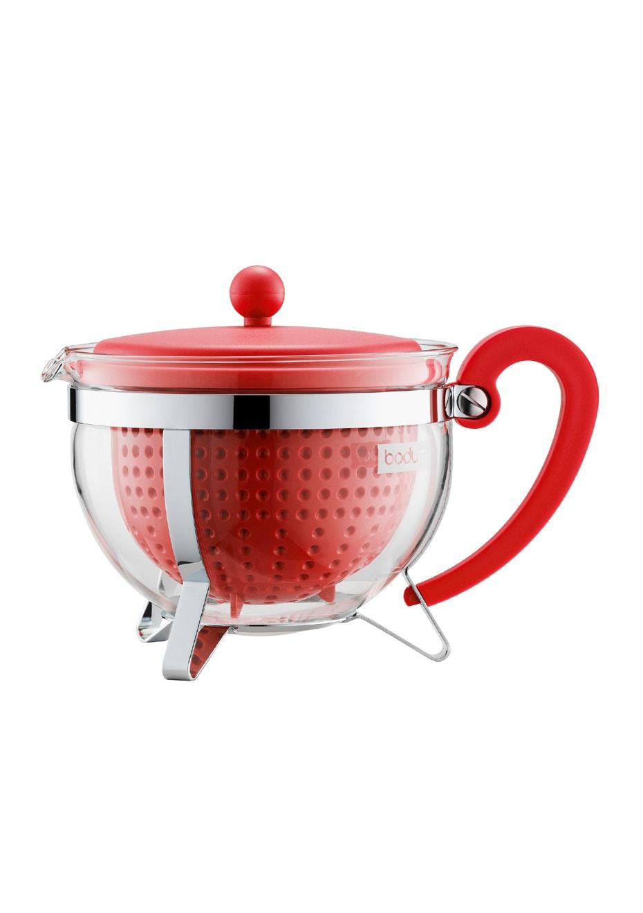 Bodum - Tea Pot, 1.3L - Red