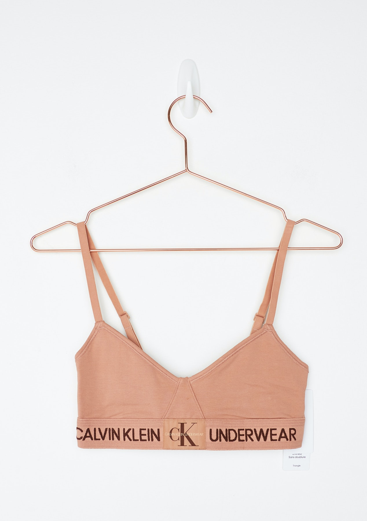 f0da35efc41 Calvin Klein - Monogram Unlined Triangle - Unity - Free Shipping Calvin  Klein - Onceit