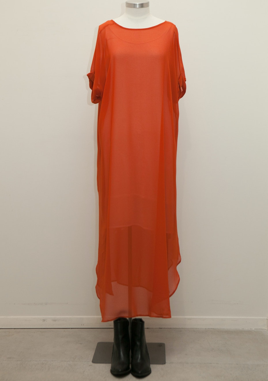 X-Plain - Night Flight Dress - Persimmon
