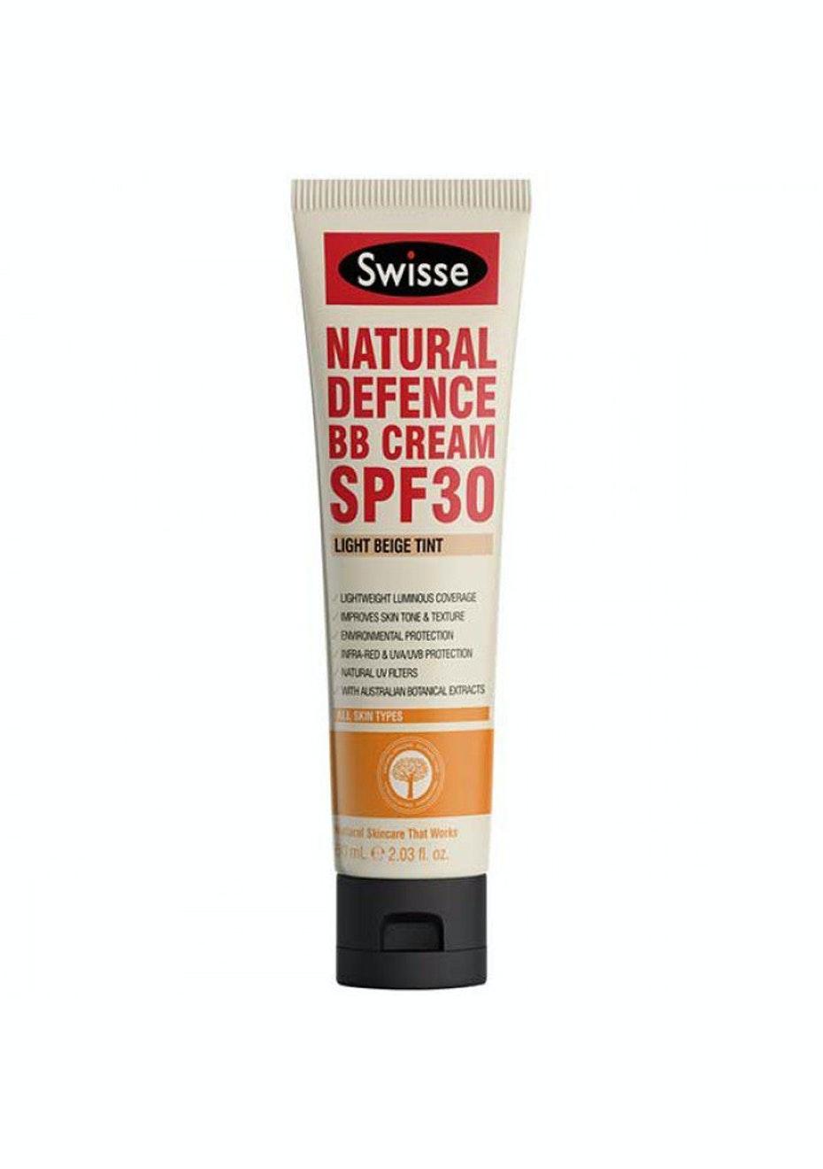 Swisse Natural Defence Bb Cream Spf 30 Light Beige 60Ml