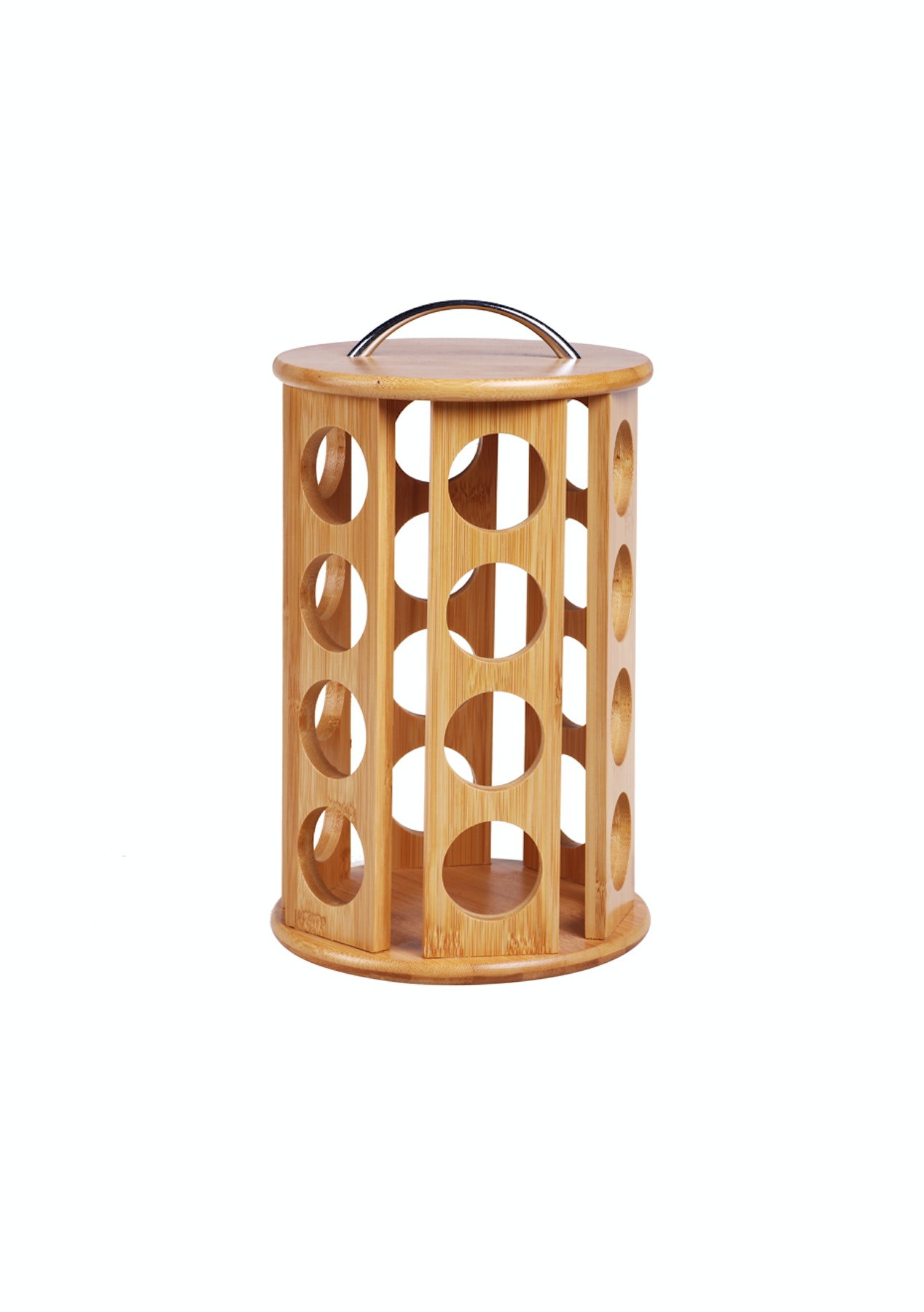 Fantastic Sherwood Bamboo Coffee Pod Carousel 24 Pod Capacity Designed For K Cups Download Free Architecture Designs Scobabritishbridgeorg