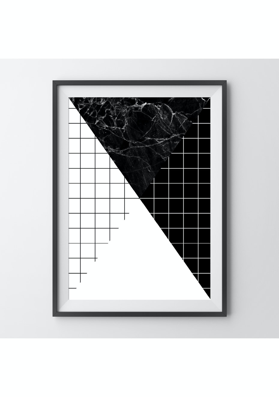 Simply Creative - Divide - A4 Monochrome Print