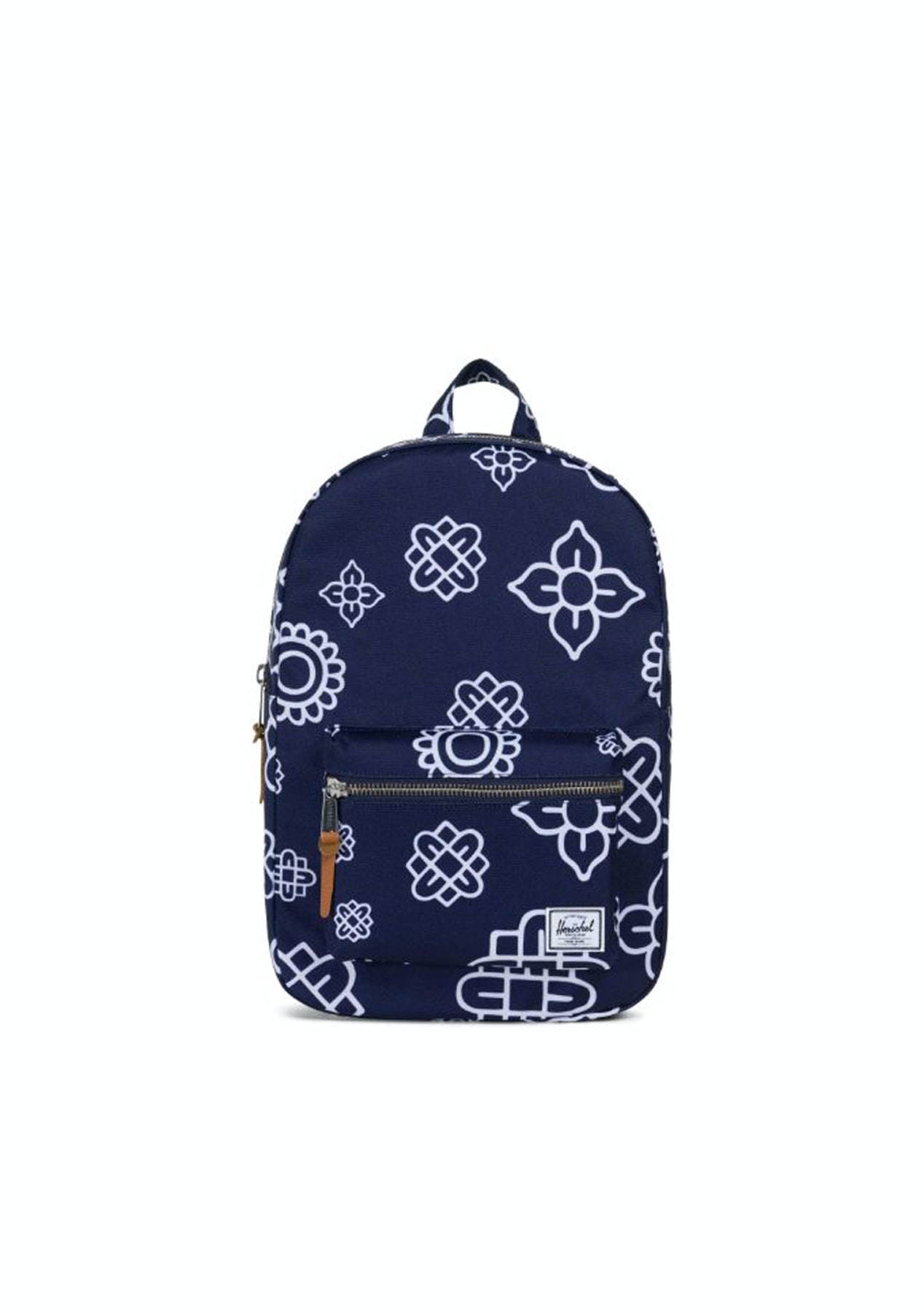 Herschel - Settlement Mid-Volume Backpack - Peacoat Paisley - Free Shipping  Mens Outlet - Onceit 911c133dfd0ef