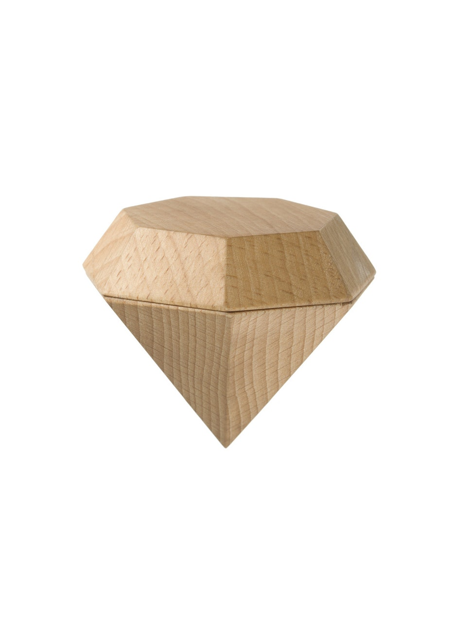 Areaware - Diamond Box Jewellery Box - Natural