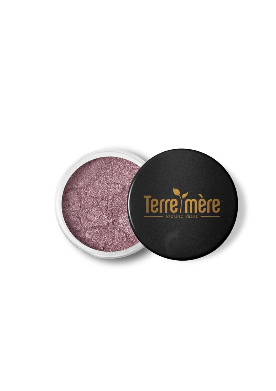 Terre Mere - Mineral Eyeshadow - Bronzed Amethyst
