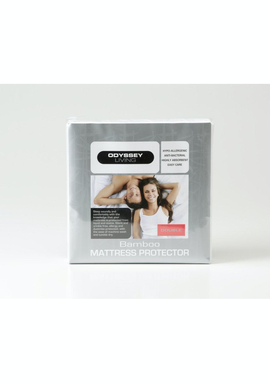 Bamboo Mattress Protector - Single Bed