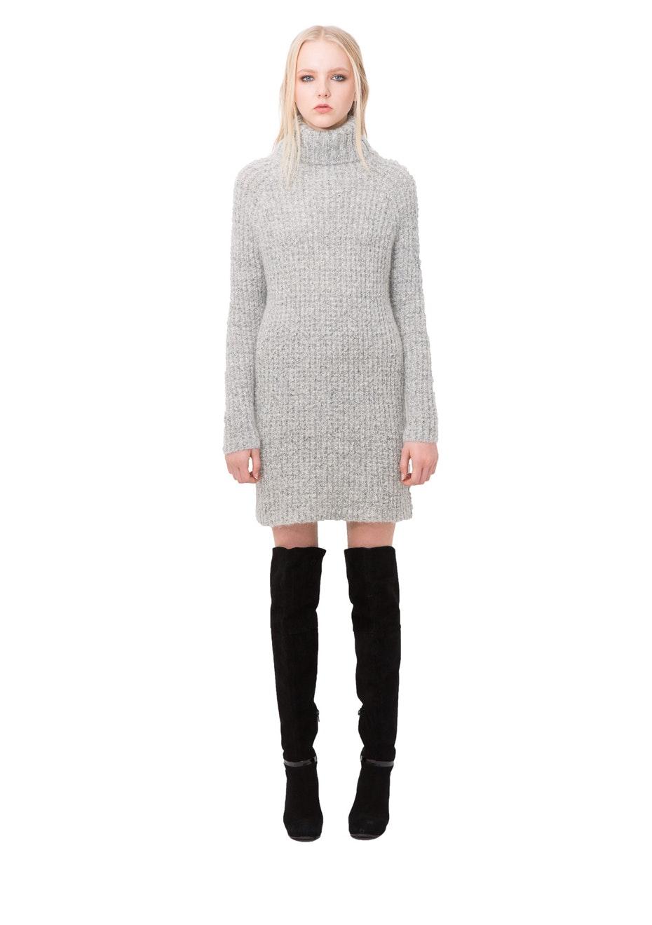 Stolen Girlfriends Club - Swamp Life Sweater Dress - Ivory