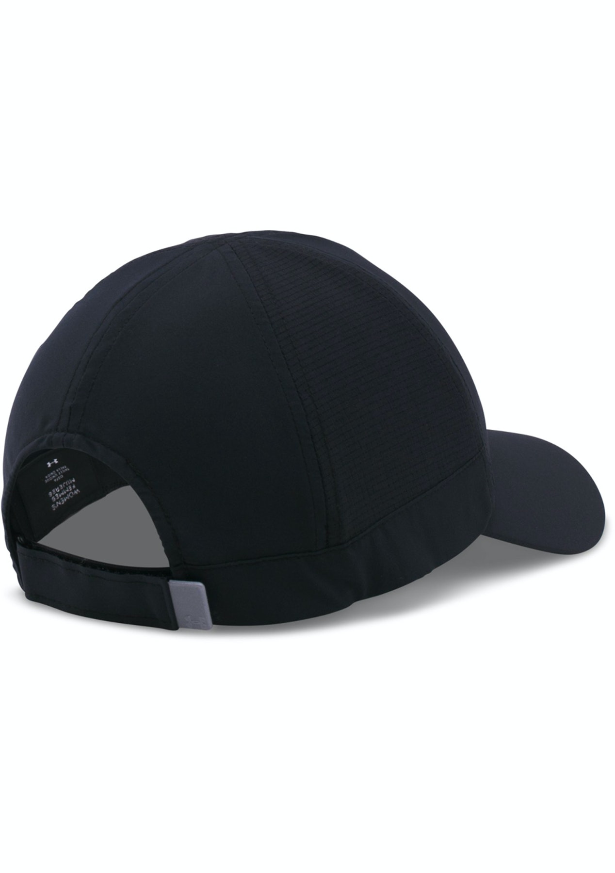 Under Armour Womens Fly Fast Cap Black Slvr - Under Armour from  8.95 -  Onceit 41a8aec64a42