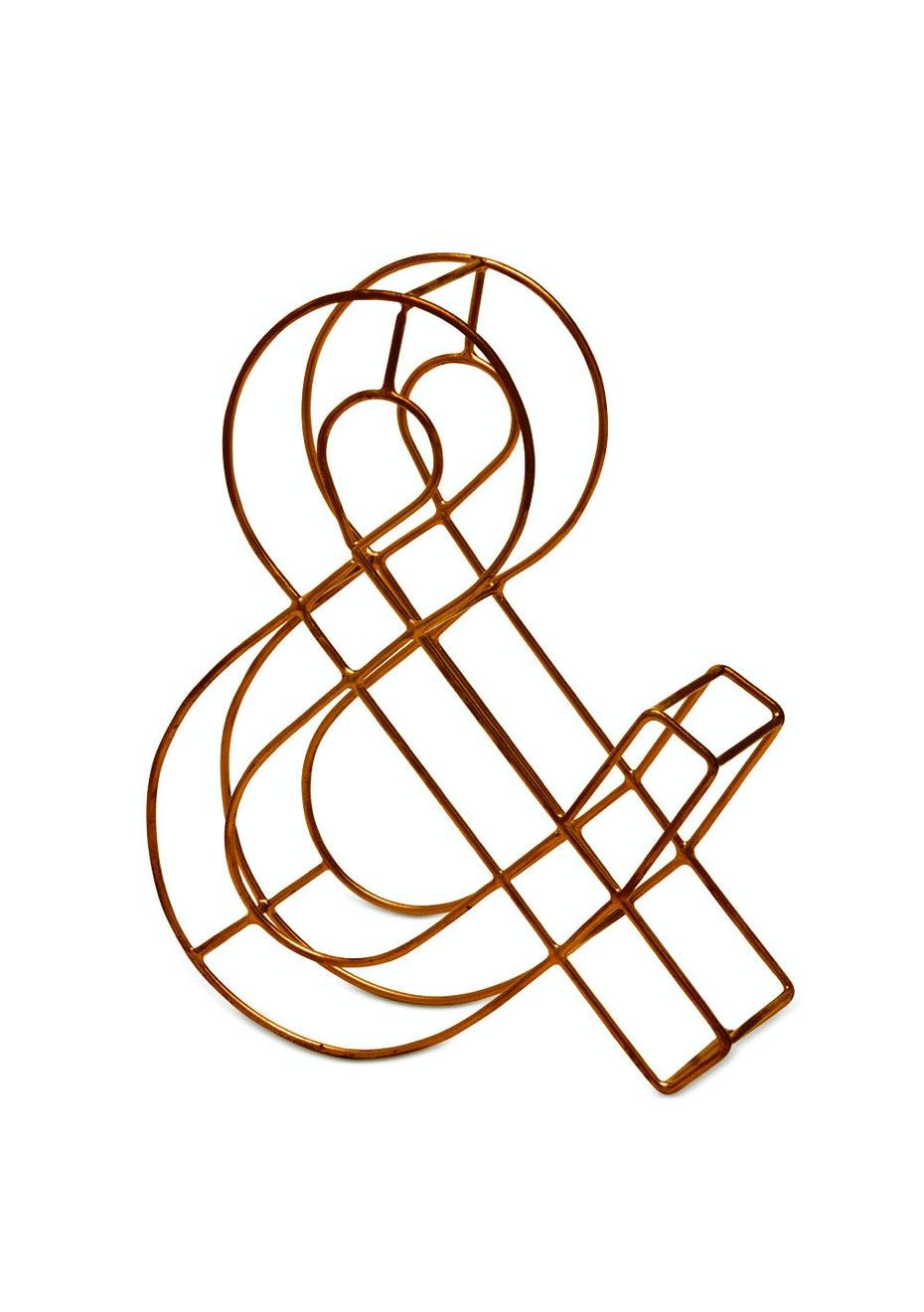 Me & My Trend - Copper Wire Decorative
