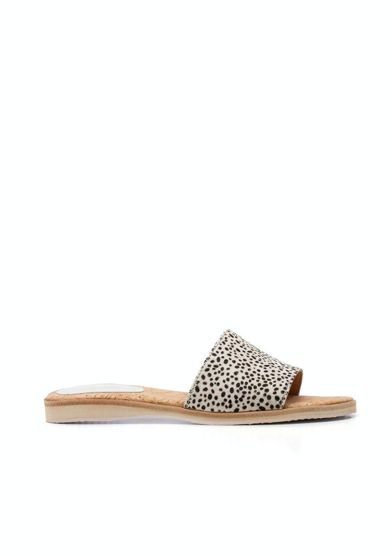 85e5b5572ff6c Rollie - Sandal Slide - Snow Leopard - Mollini   More Free Shipping - Onceit