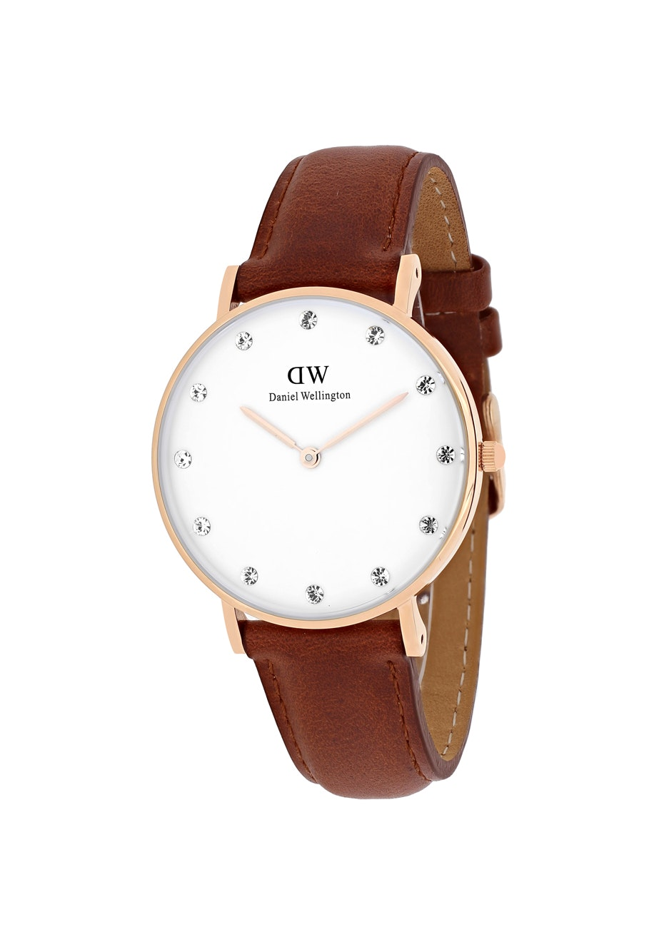 Daniel Wellington Women's Classy St Mawes - White/Brown