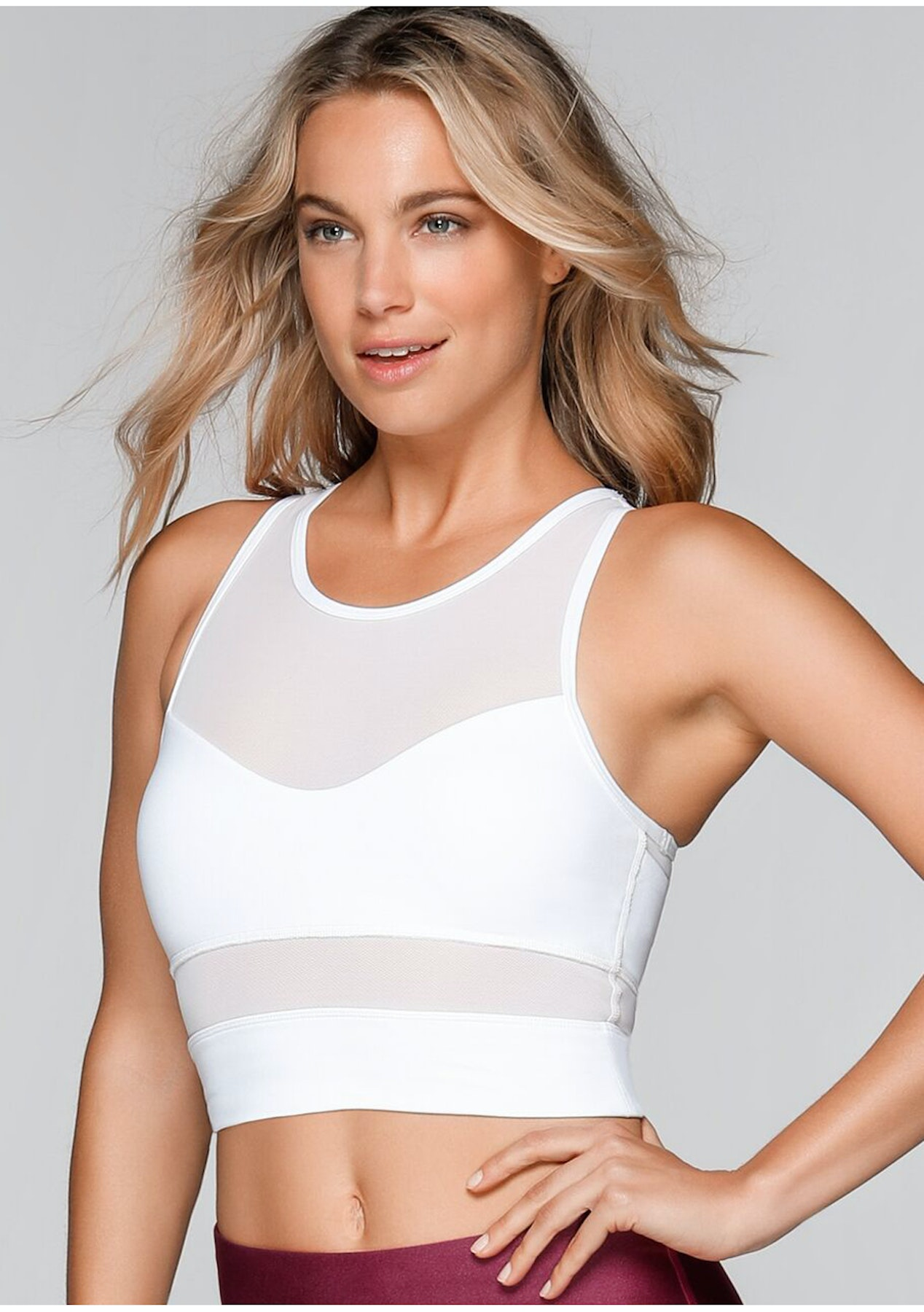 2afcb044e1 Lorna Jane - Amelia Sports Bra - White - Up to 40% Lorna Jane - Onceit