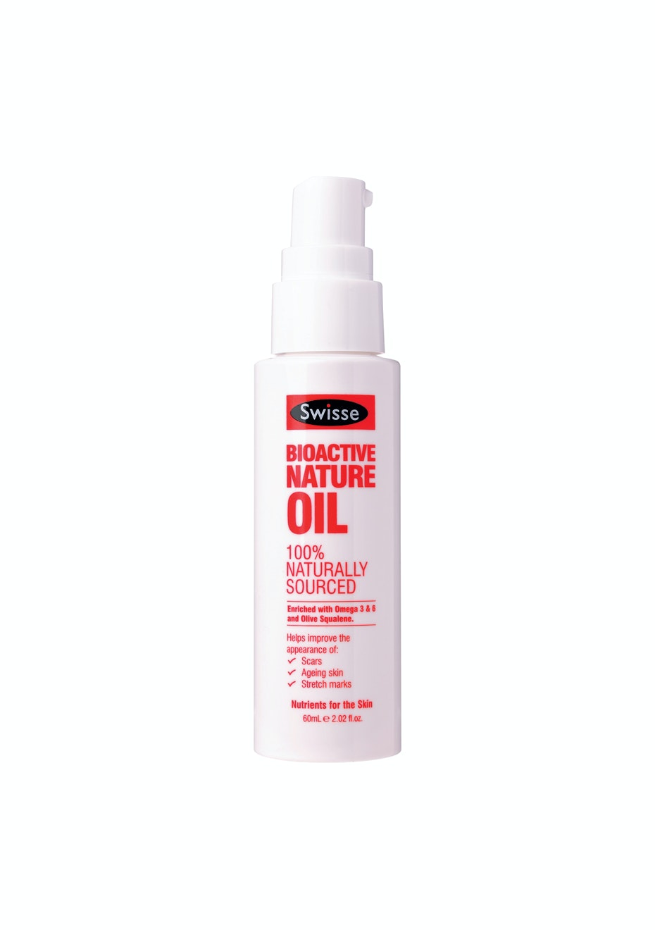 Swisse Bio Active Nature Oil 60Ml