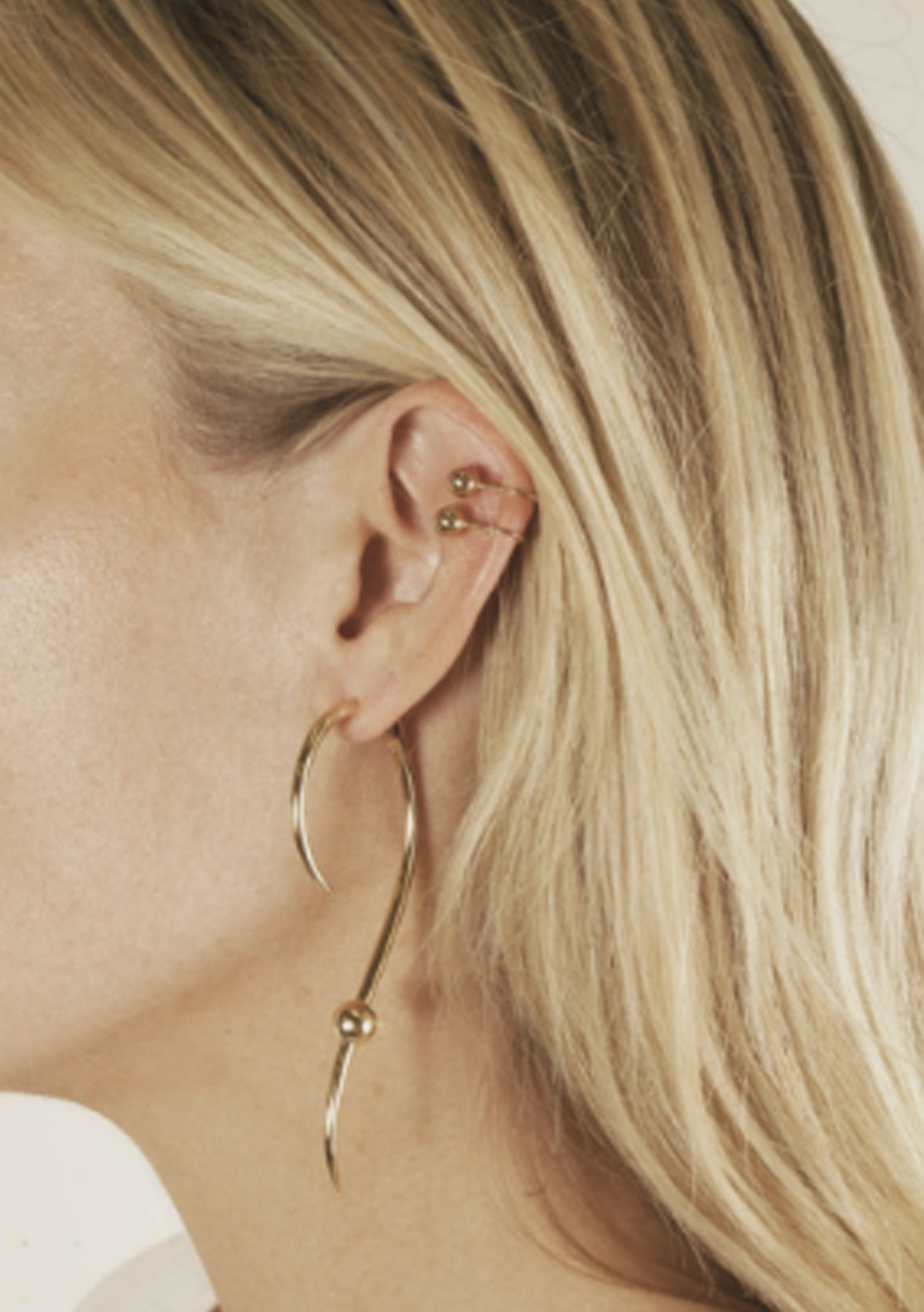 Michelle Campbell Gold Milky Way Statement Earring Gold Up To 90