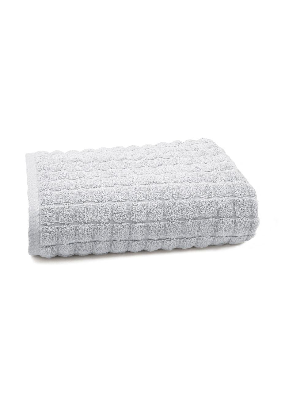 Conran Soho Bath Towel Soft Grey