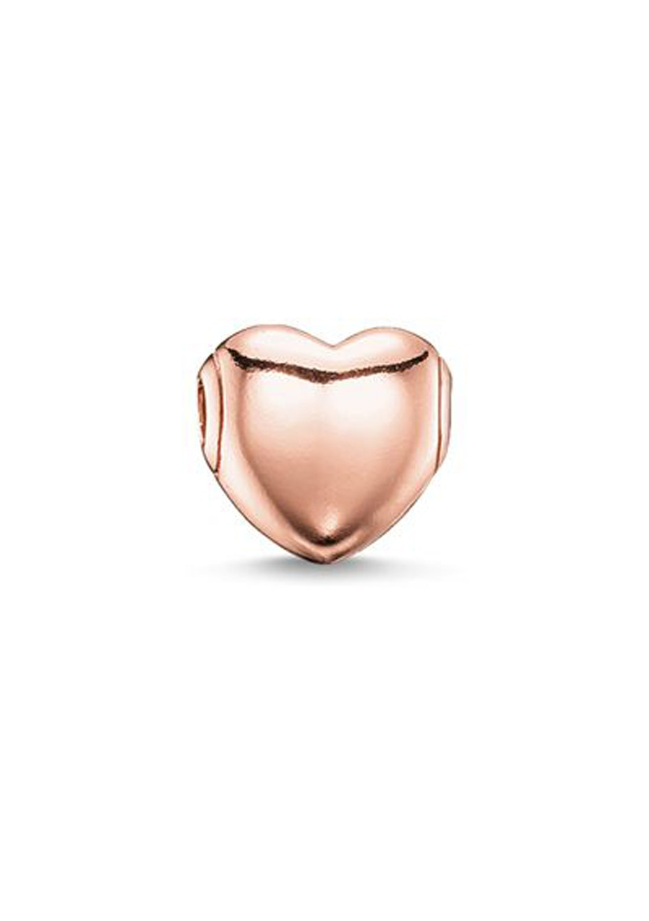 Thomas Sabo  - Karma Bead - Rose Gold Plated Heart Karma Bead
