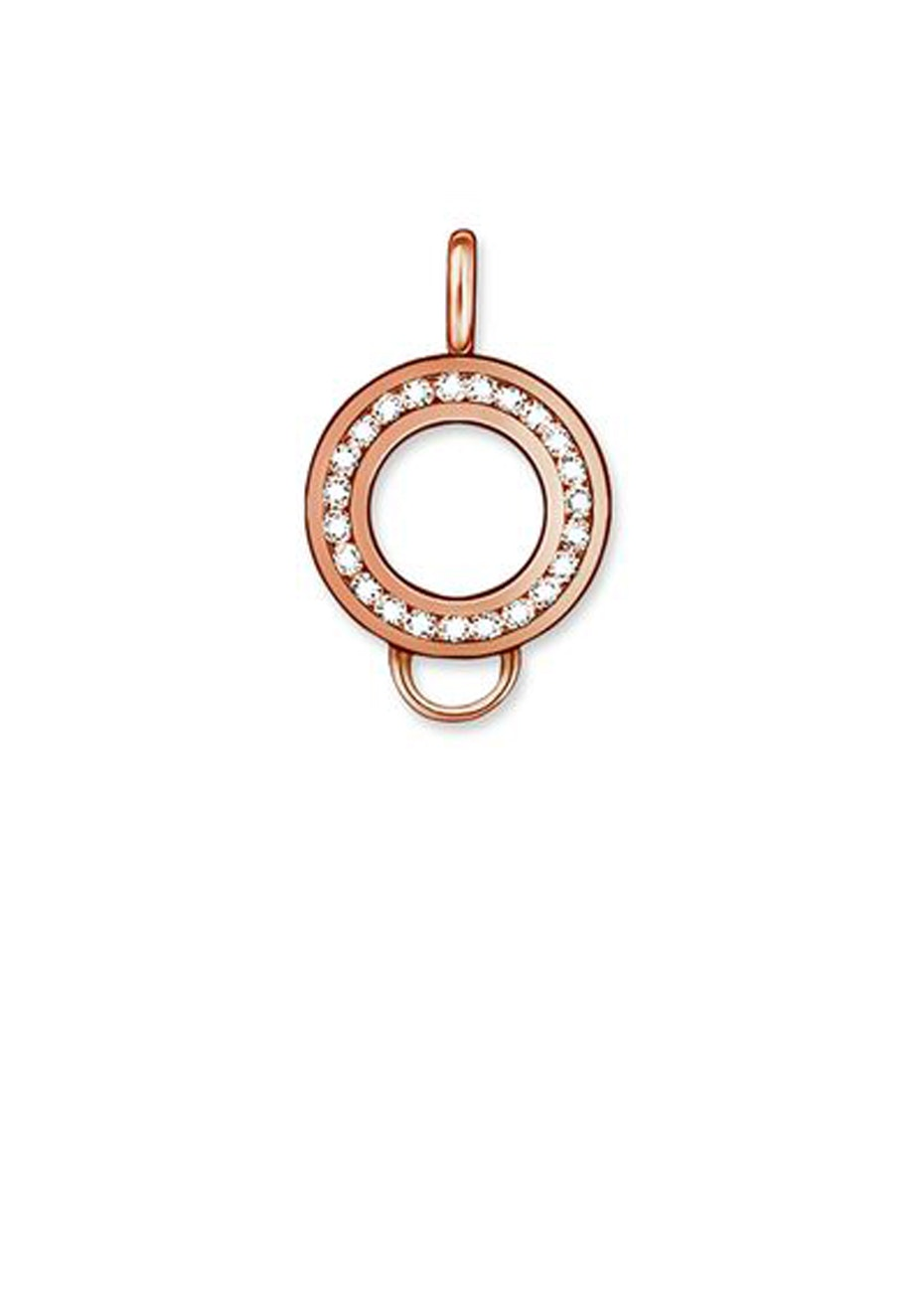 Thomas Sabo  - Charm Club - Rose Gold Plate & Cz Carrier