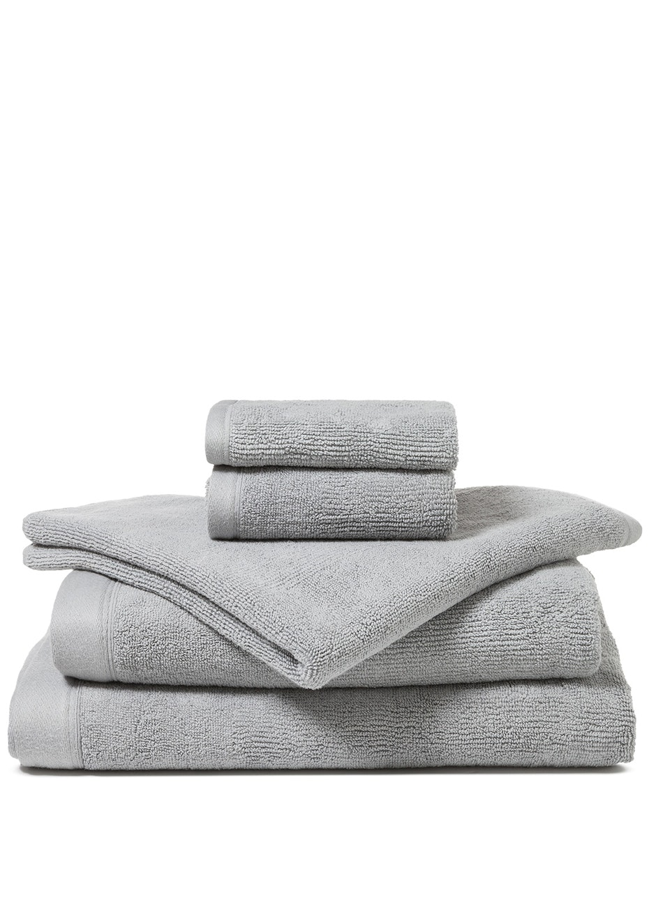 Canningvale - Corduroy Rib Bath Towel Grey