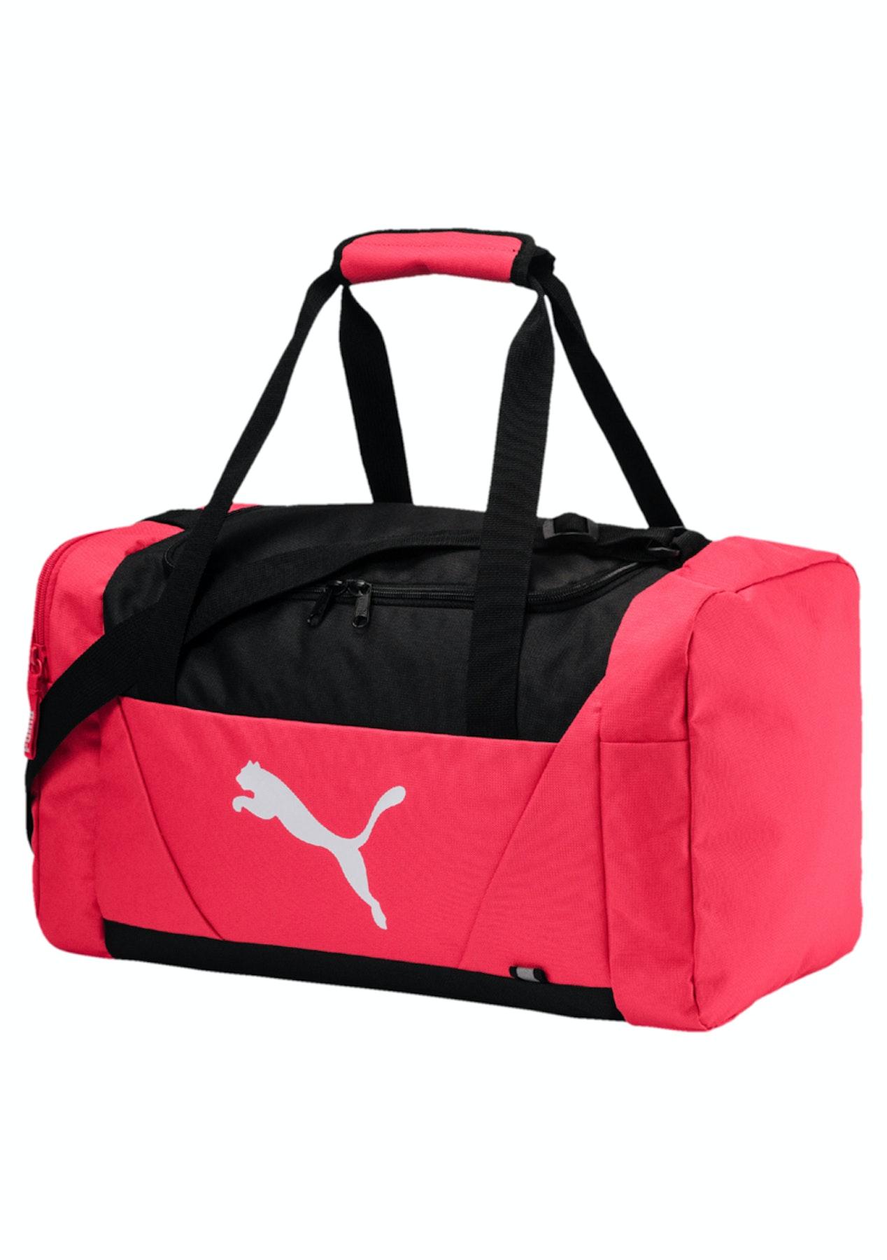 Puma Womens - Fundamentals Sports Bag S Pink - Puma Womens   Kids Up to 60%  Off - Onceit 8e1d5724a21a0