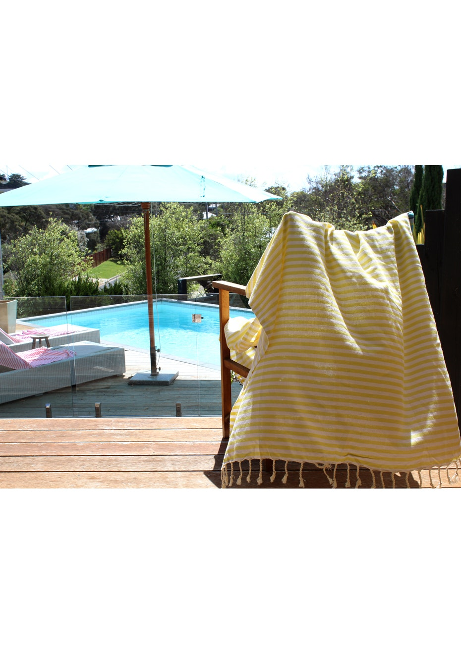 Mediterranean Yellow Turkish Towel