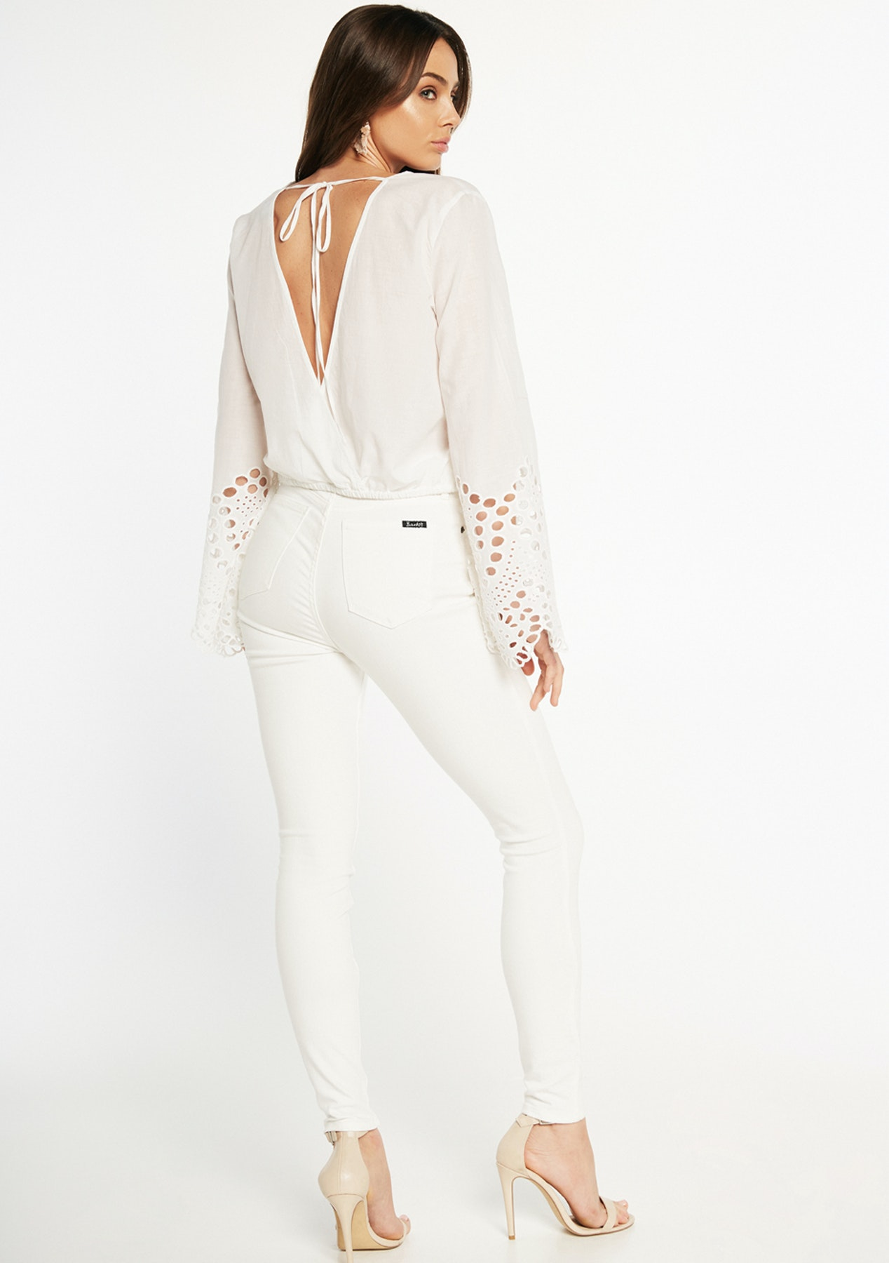 c89690e4b89048 Bardot - Daydreamer Wrap Top - Orchid Wh - Lioness and More Under  50 -  Onceit