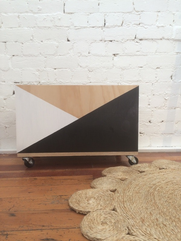 Handcrafted Toy Box - Mono