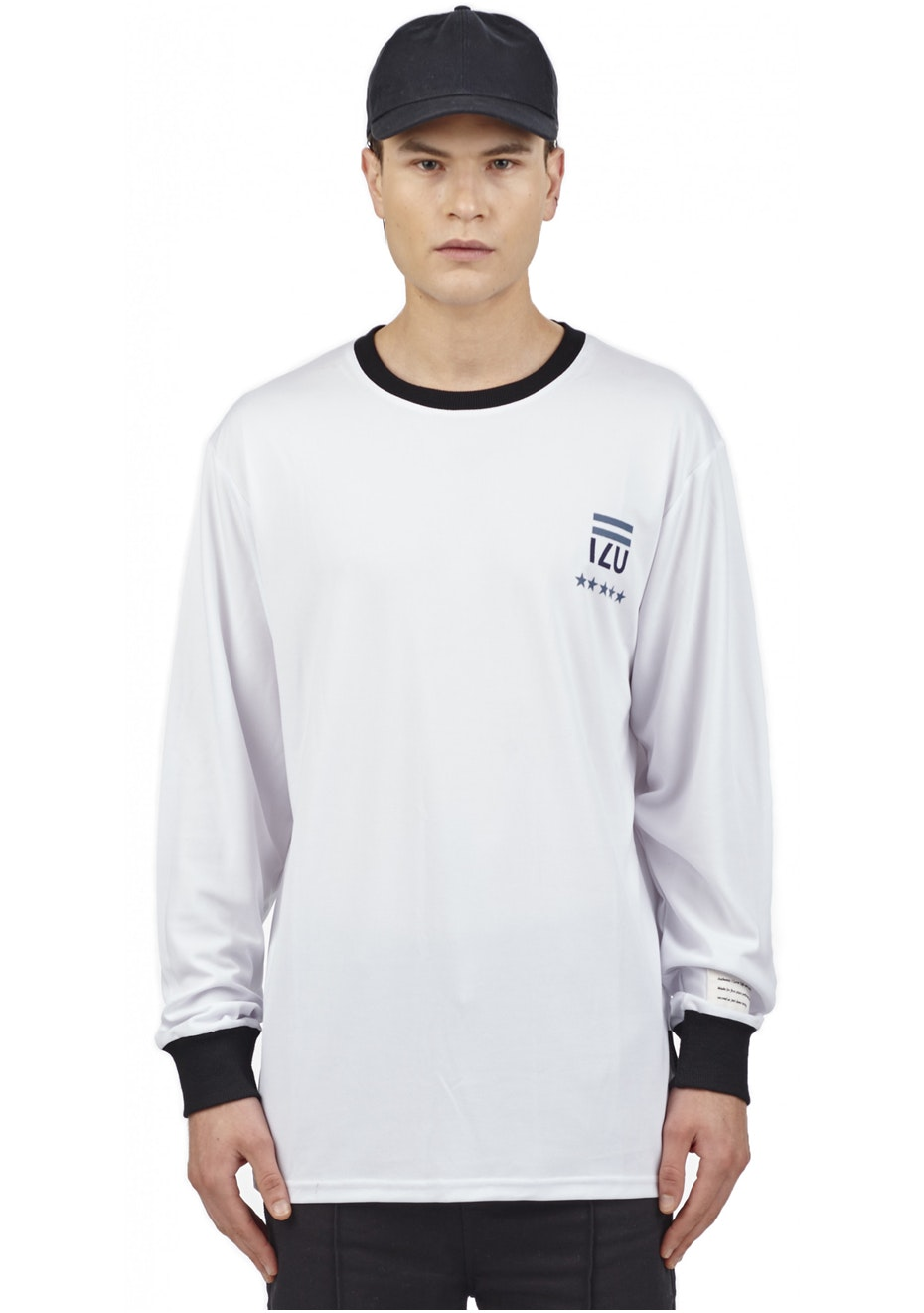 I Love Ugly - Zidane Ls Jersey - White