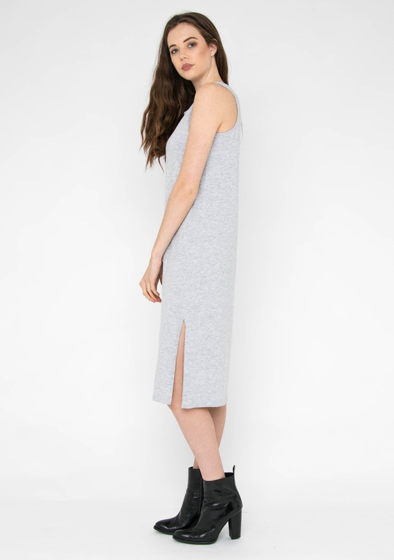 Silent Theory - Direction Dress - Grey Marle