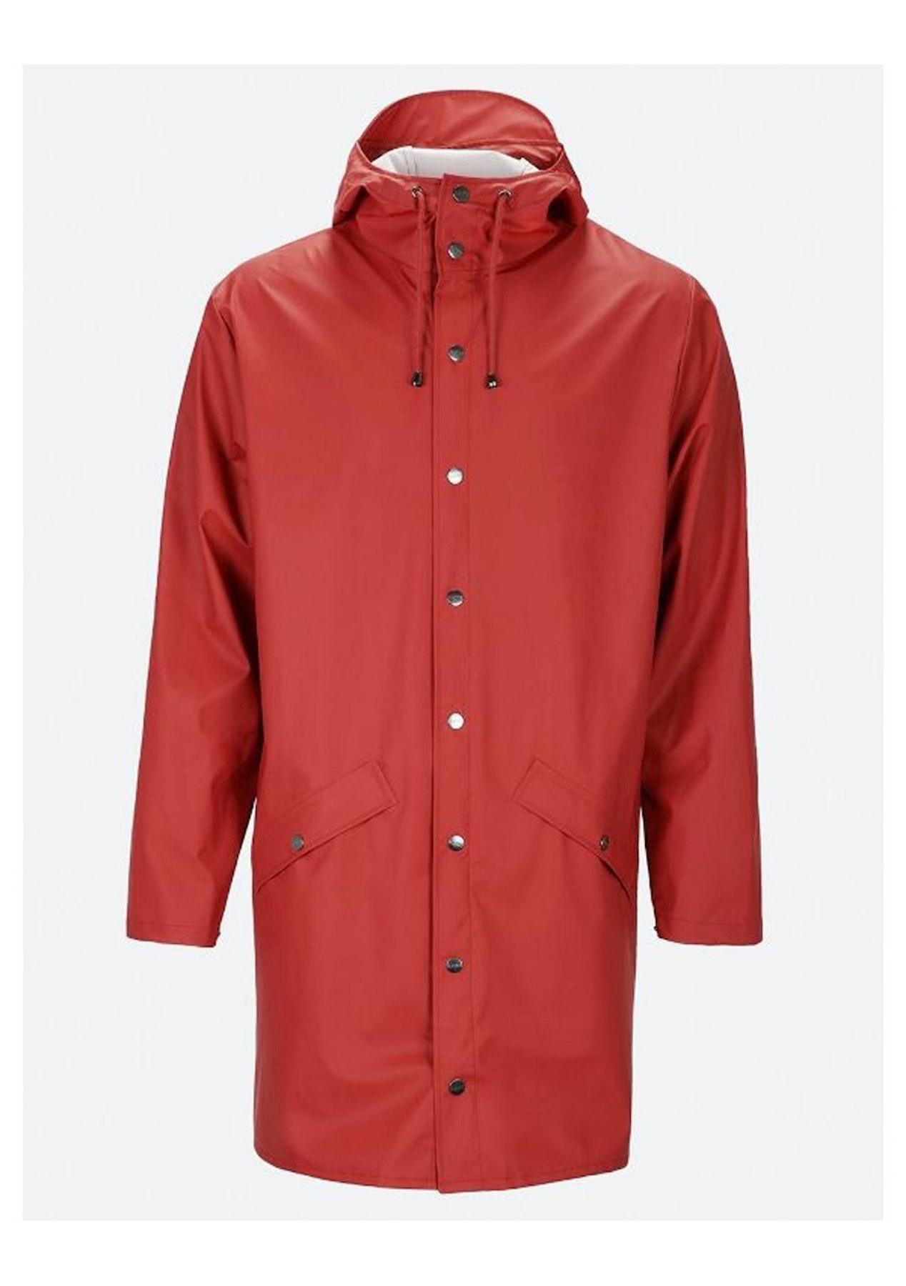 69971dc5c Rains - Long Jacket (unisex) - Carlet