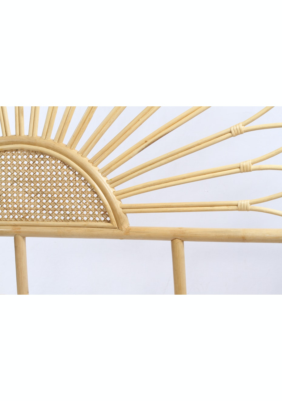 Sunrise Super King Rattan Headboard Rattan Furniture Edit Onceit
