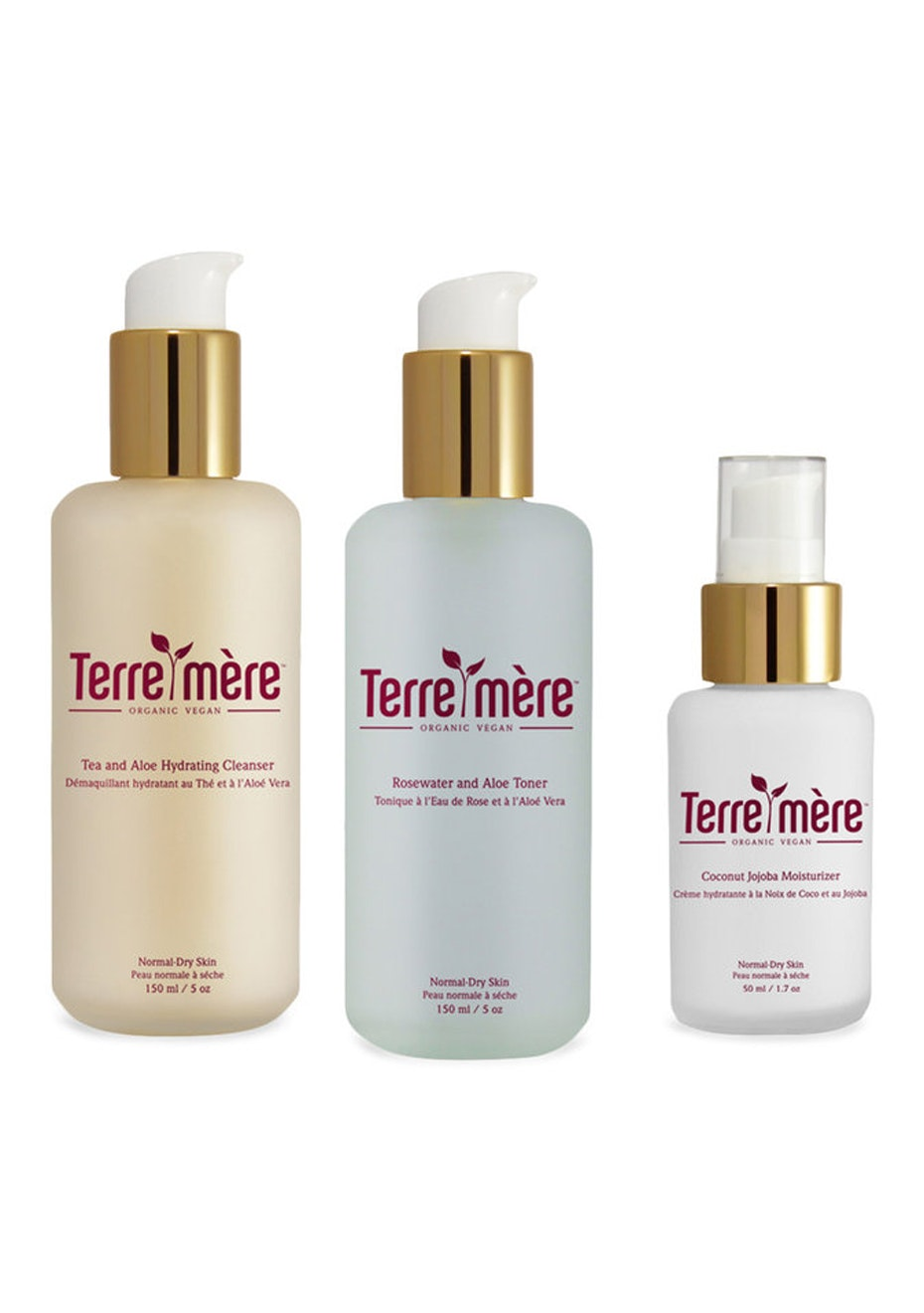 Terre Mere - Beauty Essentials Set for Normal to Dry Skin